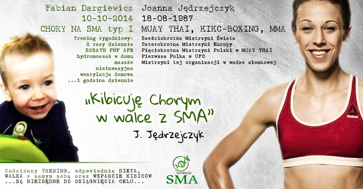 14 Sierpnia: Joanna Jędrzejczyk Kibicuje W Walce Z SMA