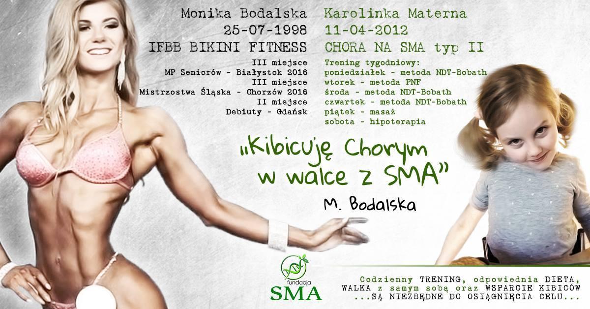 21 Sierpnia: Monika Bodalska Kibicuje W Walce Z SMA