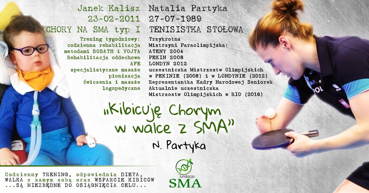 10 Sierpnia: Natalia Partyka Kibicuje W Walce Z SMA