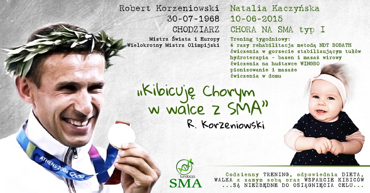 17 Sierpnia: Robert Korzeniowski Kibicuje W Walce Z SMA