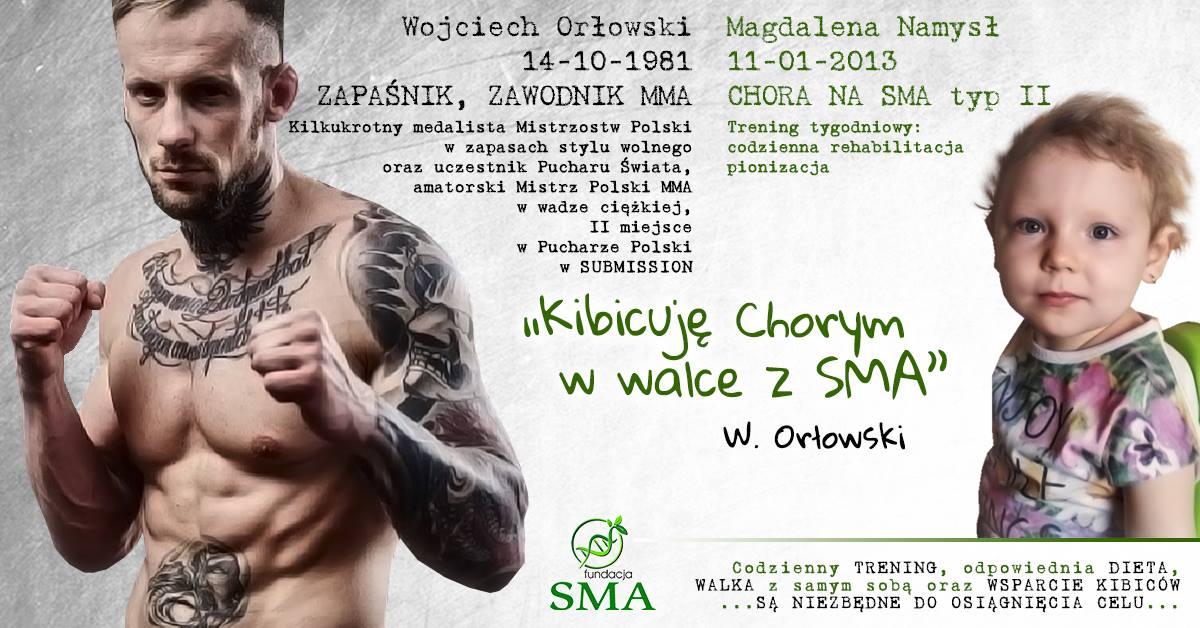 7 Sierpnia: Wojciech Orłowski Kibicuje W Walce Z SMA