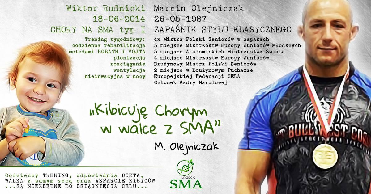 19 Sierpnia: Marcin Olejniczak Kibicuje W Walce Z SMA