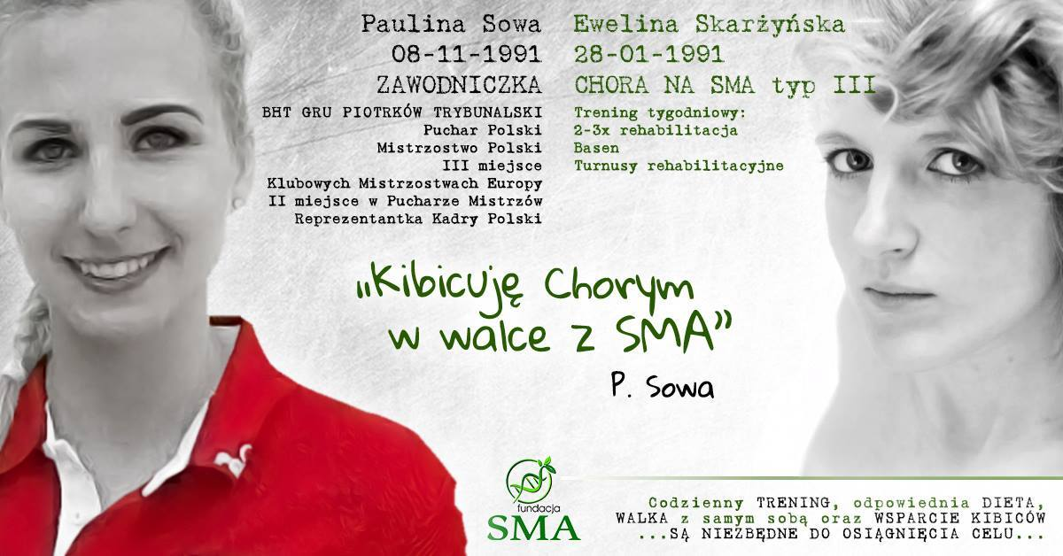 30 Sierpnia: Paulina Sowa Kibicuje W Walce Z SMA