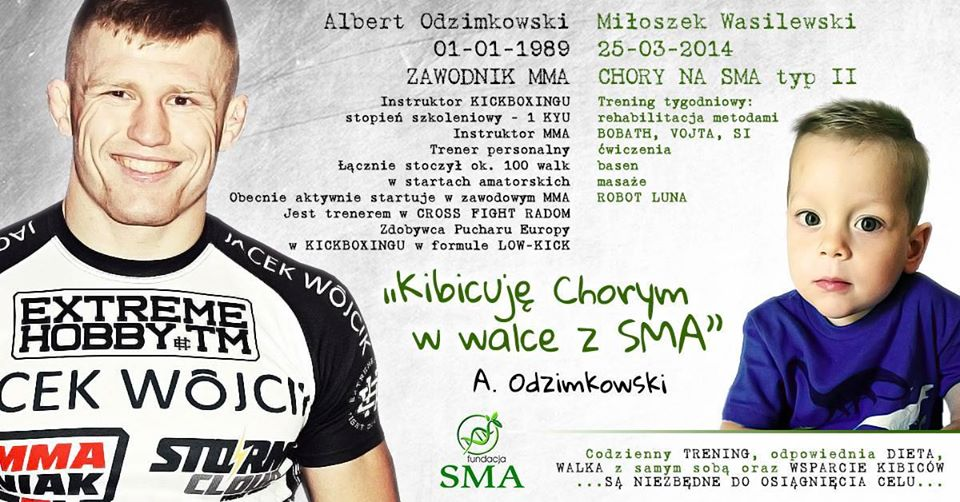 2 Września: Albert Odzimkowski Kibicuje W Walce Z SMA