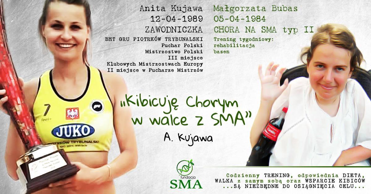 12 Września: Anita Kujawa Kibicuje W Walce Z SMA