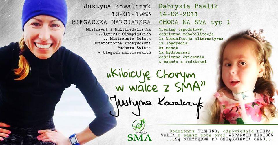 22 Września: Justyna Kowalczyk Kibicuje W Walce Z SMA