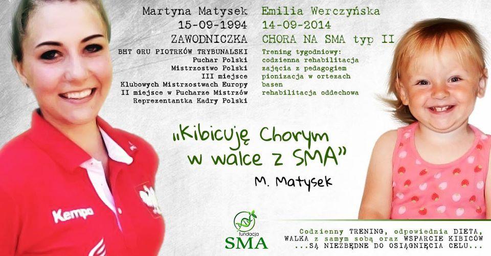 8 Września: Martyna Matysek Kibicuje W Walce Z SMA