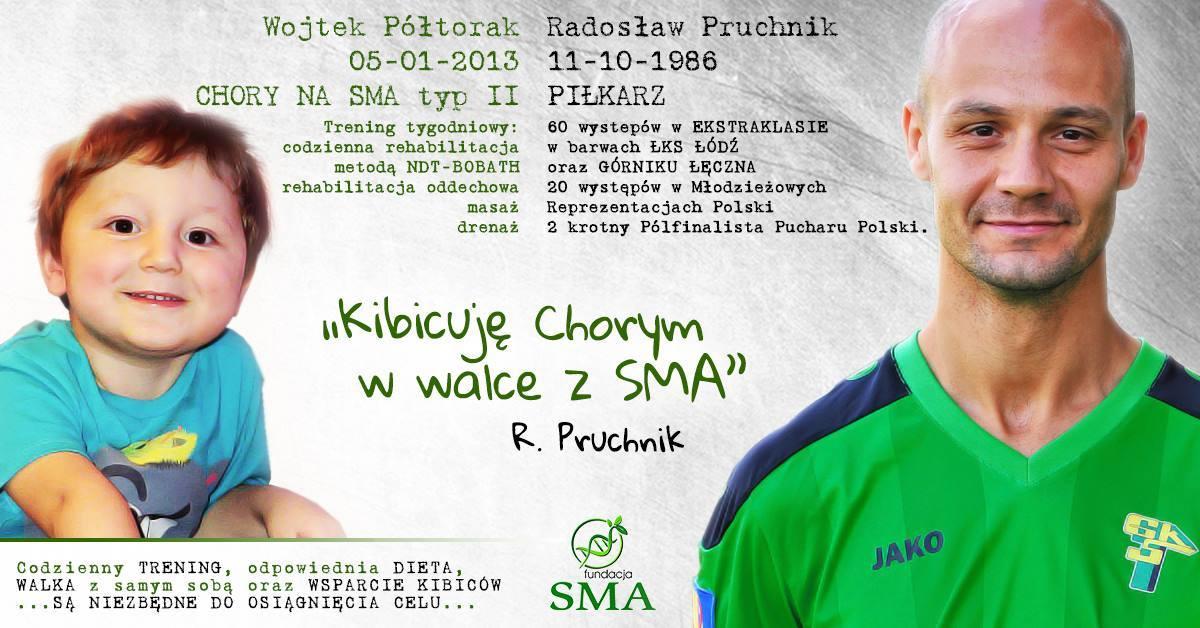 14 Września: Radosław Pruchnik Kibicuje W Walce Z SMA