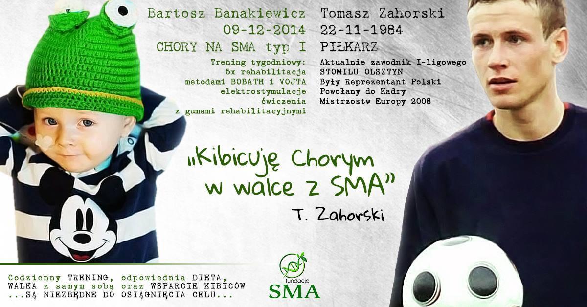 1 Września: Tomasz Zahorski Kibicuje W Walce Z SMA