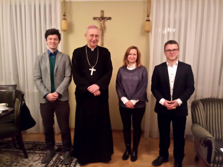 Spotkanie Z Przewodniczącym Konferencji Episkopatu Polski