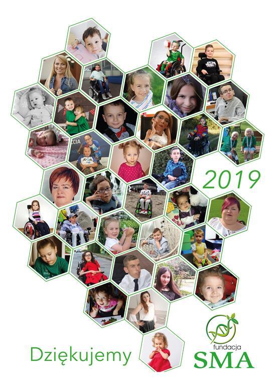 Kalendarz Fundacji SMA Na Rok 2020