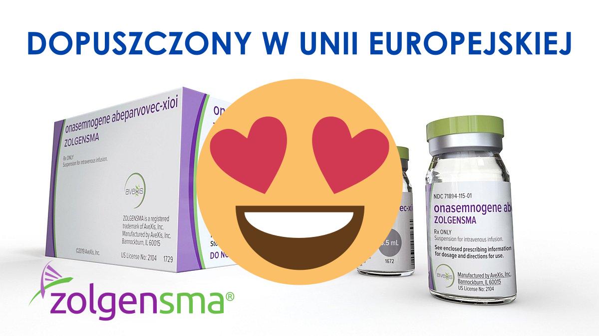 Lek Terapii Genowej Zolgensma Dopuszczony Do Stosowania W Unii Europejskiej